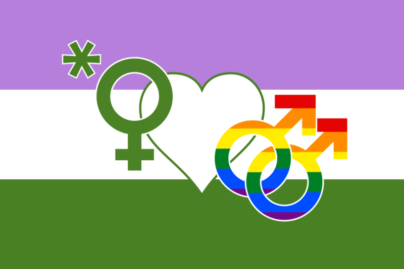 girlfag flag by Max*