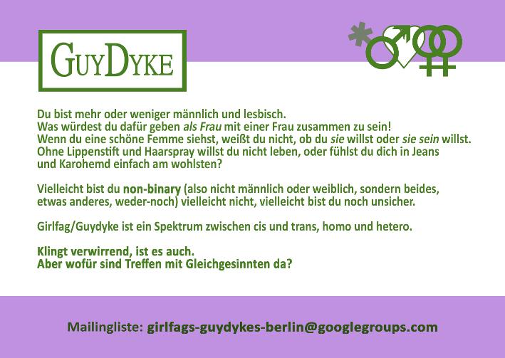 Guydyke, Flyer-Stammtisch