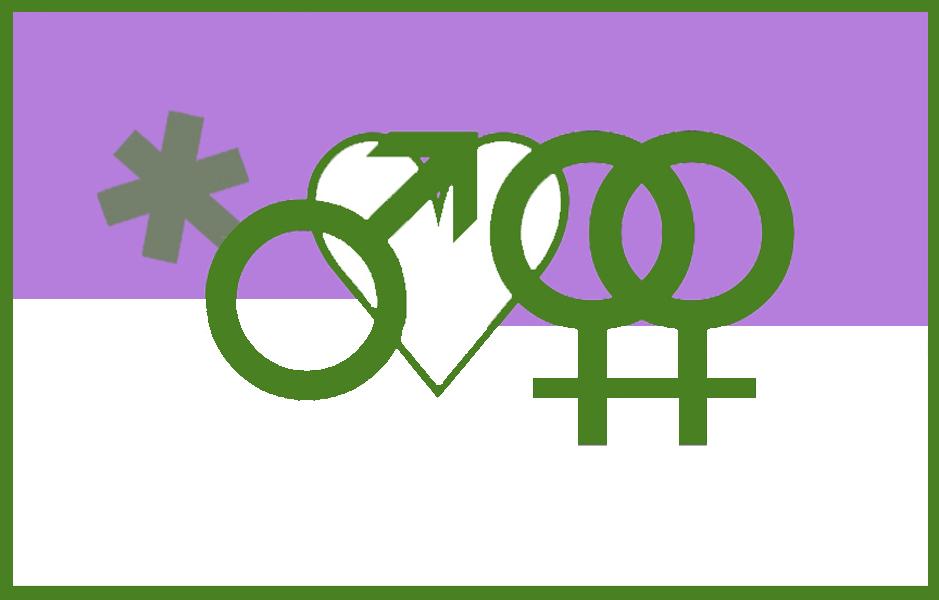 Gydyke-Genderqueer-Fahne